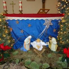 Zakład Pielęgnacyjno Opiekuńczy w Żołyni - Boże Narodzenie 2014