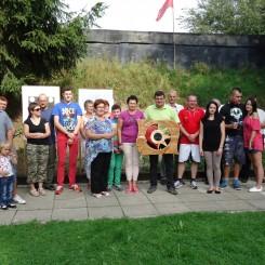 Zakład Pielęgnacyjno Opiekuńczy w Żołyni - Strzelanie dobroczynne 2014