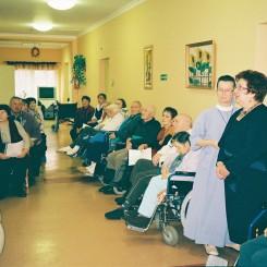 Zakład pielęgnacyjno opiekuńczy w Żołyni - Dzień chorego 2011